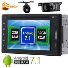 Front&Backup Camera included! Android 7.1 Octa-core 2 Din GPS Car Stereo Navigation Autoradio Bluetooth WIFI Radio FM Receiver