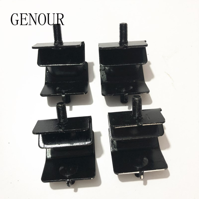 2X Black Carbon Brush Assembly Fit For 2kw-3kw Gasoline Generator 168F