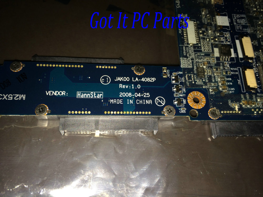 NEW +STOCK !!! HOT IN EUROPE GREECE FRANCE ...SHIPPING JAK00 LA-4082P Laptop Motherboard For HP Pavilion DV7 NOTEBOOK PC