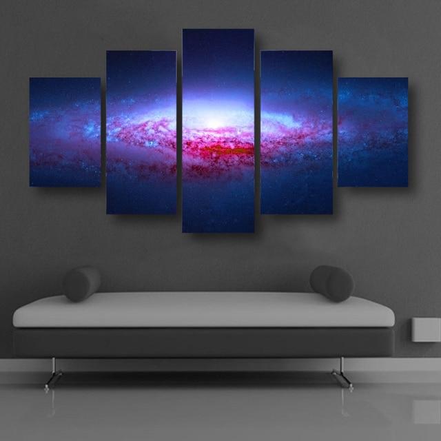 Abstrakte Kunst Leinwand rahmenlose abstrakte kunst leinwand malerei fantasie universum