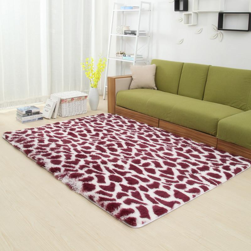 grueso flokati shaggy y alfombras para el hogar saln dormitorio cocina bao mat alfombra moderna