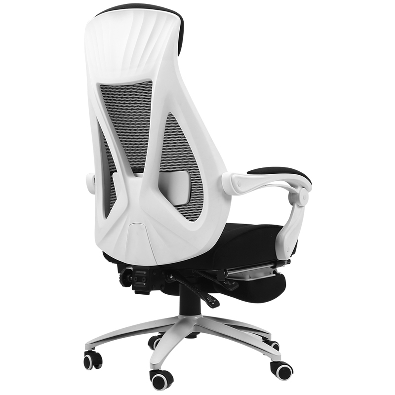 WB# 3309 Black and white adjustable seat office gaming leisure game household boss computer chair автомобиль газ 3309 бес шасси