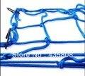 Azul motocicleta bagagem carga capacete Net amarração 30 x 30 mm reboque esporte casa