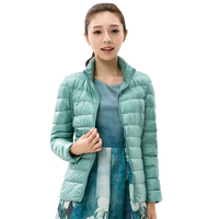 Womens Down Coat Winter Coat Regular Jacket Ultra Light Solid Spring Coat Clearance Sale YR002