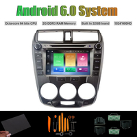 Android 6 0 Octa Core CAR DVD PLAYER For HONDA CITY 2008 2012 Manual Air Con