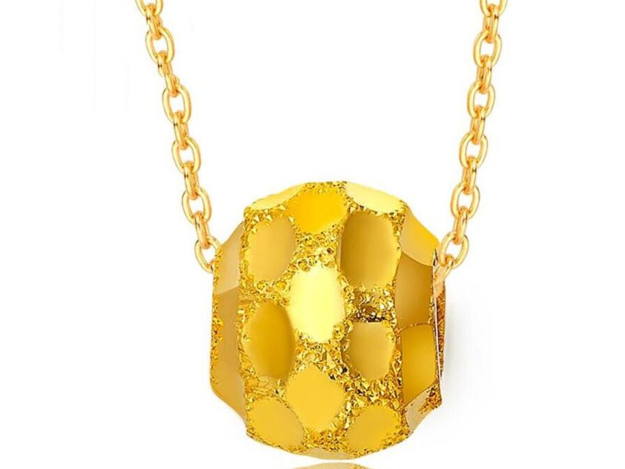 NEW Pure 999 24K Yellow Gold Lucky Ball Pendant / Only PendantNEW Pure 999 24K Yellow Gold Lucky Ball Pendant / Only Pendant