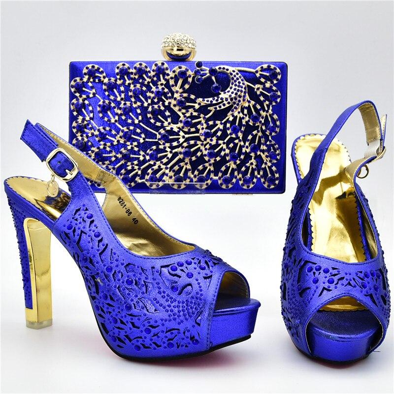 Sac Luxe En Africaine De Chaussure Le Italie Et Rouge Pour Chaussures Ensemble Nouvelle Italien vin Bleu Femmes Mis Arrivée or Parti fuchsia Designers Pompes wZaIxqzY