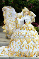 New Cothes Anime Tsubasa Reservoir Chronicle SAKURA A Full Set Of Wedding Dress Cosplay Custom Made