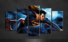 Superman Canvas Posters (3 Sizes)