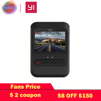 YI Mini Dash Camera International Version 140 Ultra Wide angle lens 1080p 30fps Discreet Design 2.0 LCD Screen