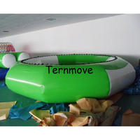 inflatable aqua park Jumping Inflatable Bungee jumper Jumping Trampoline Inflatable Water Bouncer