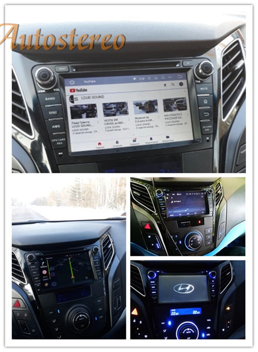 Octa Android 8 Auto di Navigazione GPS Per Auto CD Lettore DVD per HYUNDAI I40 I-40 2011-2016 HD Multi- sistema multimediale Auto Radio RDS GPS Navi