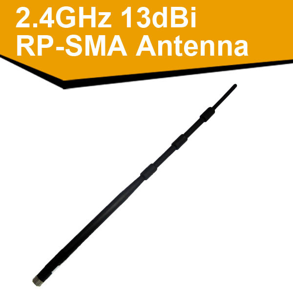 High Gain 802.11b/g/n 2.4G 13dBi Wireless Lan omni directional RP-SMA WiFi Antenna