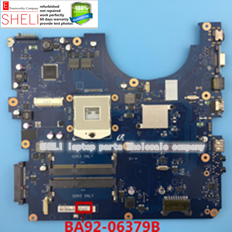BA92-06379A BA92-06379B For Samsung NP-R540 R540 intel HD Graphics HM55 laptop Motherboard,SHELI store 60days warranty.