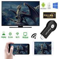 WeCast AnyCast M2 Plus Airplay Miracast DLNA 1080 P WiFi Display TV Dongle Video Streamer Chrom Cast 2 Crome Cast cromecast 2