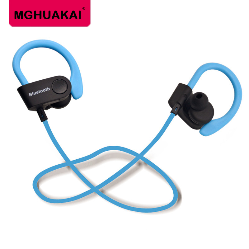wireless bluetooth headphones waterproof sports headphone bass bluetooth earphone with mic for phone iPhone xiaomi