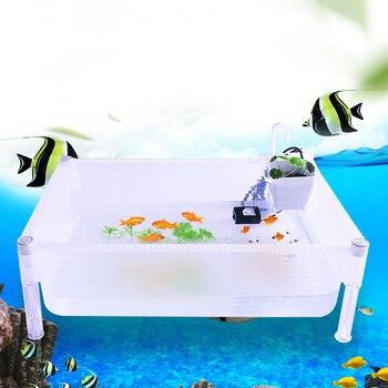 Detachable and Superimposable Fish Tank Turtle Tank Aquarium Shrimp Tank Turtle Breeding Tank