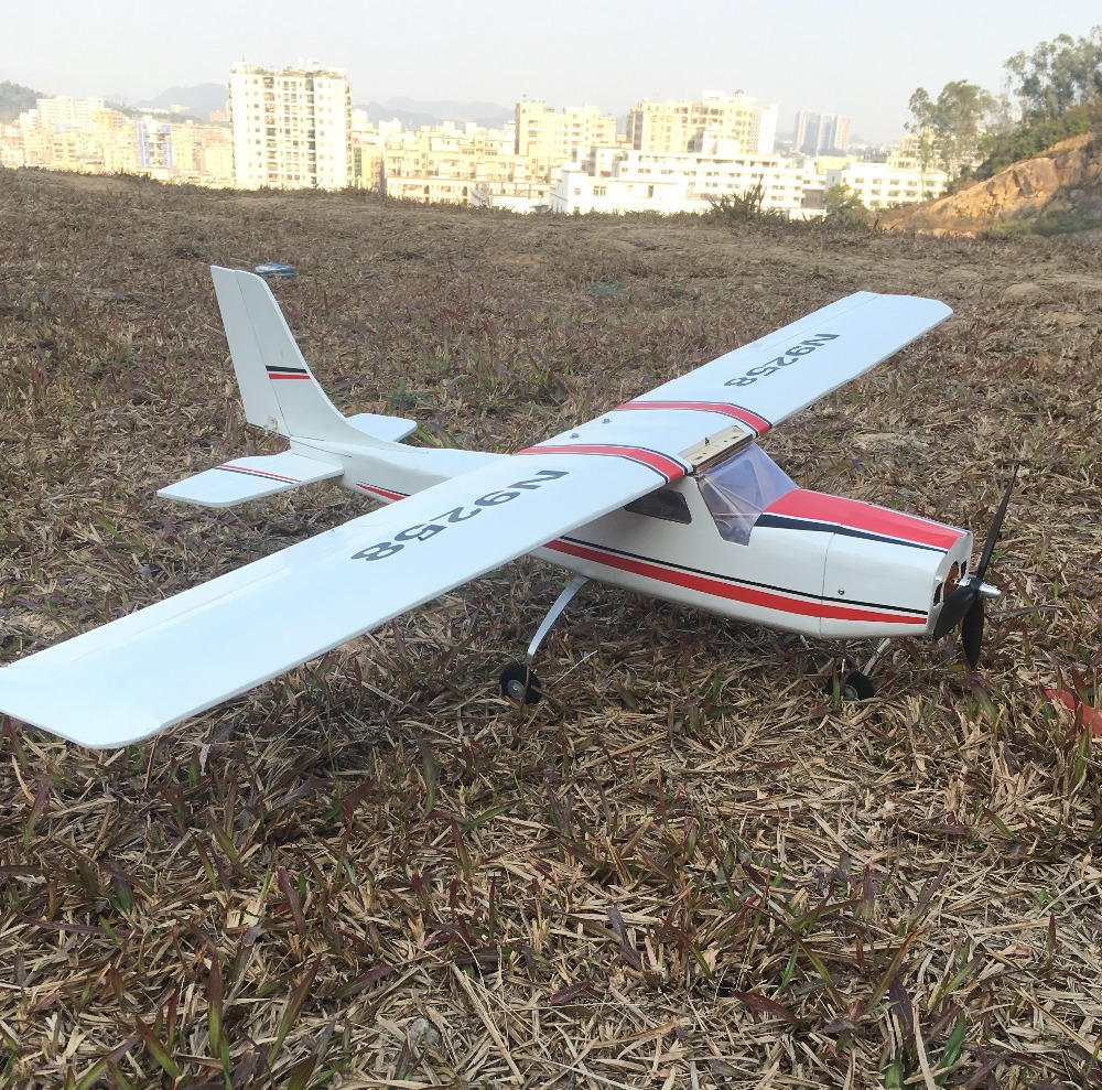 1200mm diy balsa rc avião kit cessna