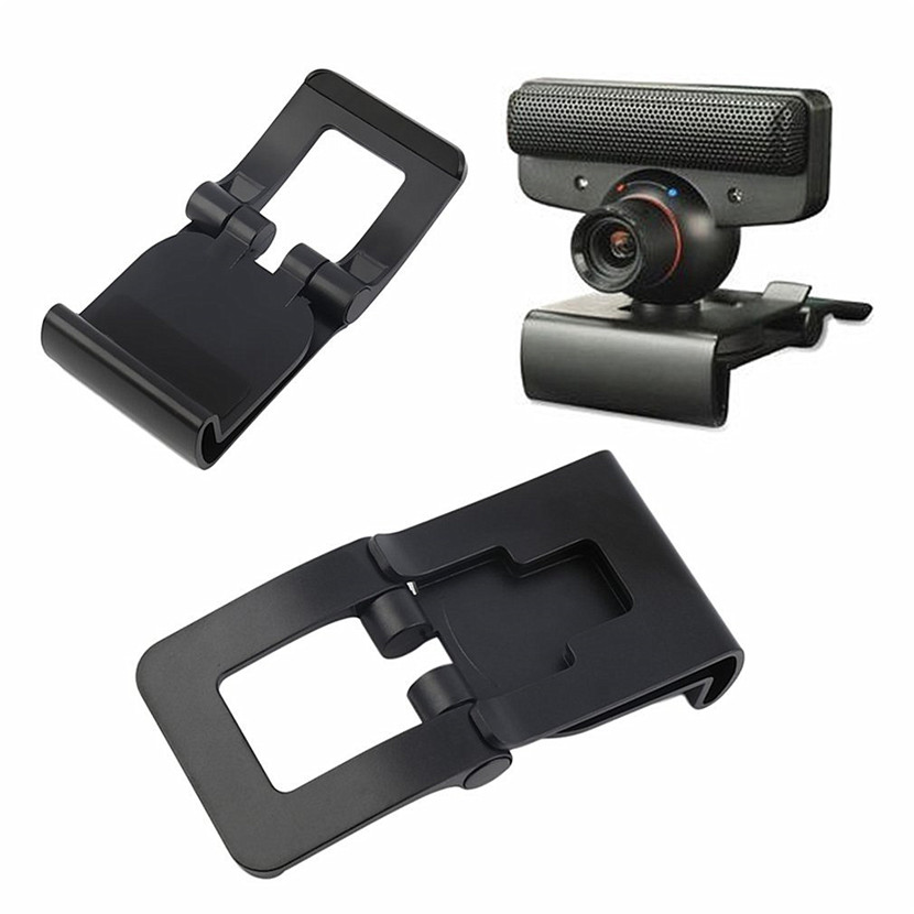 1pc TV Clip Mount Holder Stand For Sony Playstation 3 For Sony PS3 Move Controller Eye Camera Games Wholesale Promotion