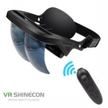 Novo Design Inteligente 3D Cassete de Vídeo E Jogo Do Telefone AR Com Controlador Sem Fio AR Óculos Óculos de Realidade Aumentada