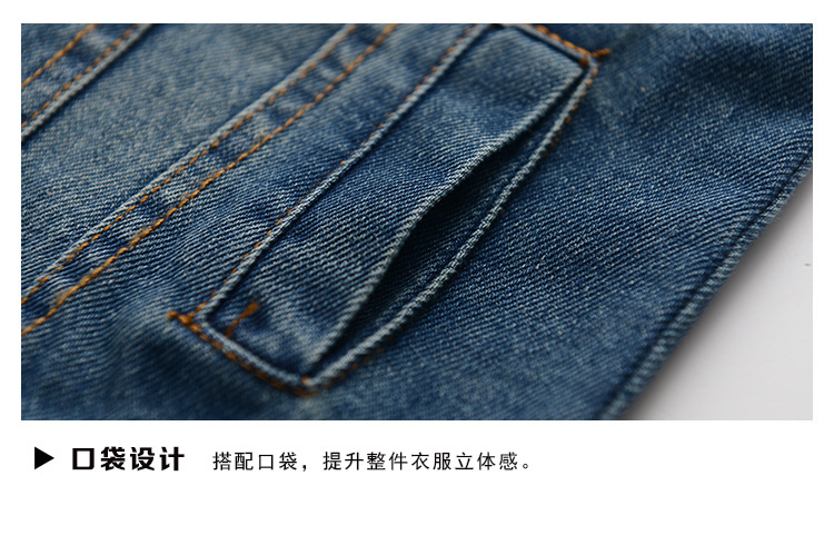 ce0daad72 rep Girl Denim Jacket Blue Denim Girls Coat For 2 3 4 6 8 10 12 ...
