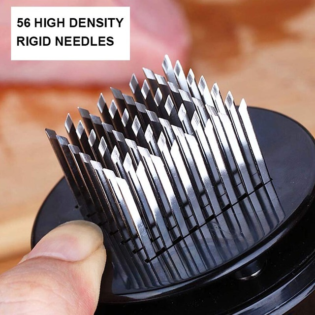 Stainless steel meat tenderizer needle for steak pork beef meat
