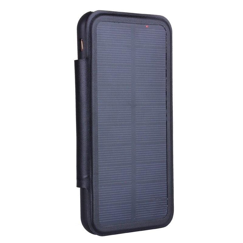 imágenes para 3000 mAh/5000 mAh Caja de Batería de Energía Solar Para el iphone 6 6 s plus Cargador de Batería Banco de la Energía Externa caso Para El Iphone 7/7 Más