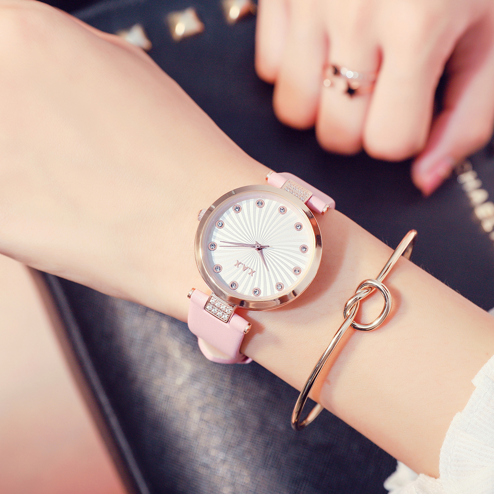 Female Pink Watches Montres Femme Rose XAX Brand