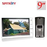 9inch Video door phone 700TVL color video intercom door phone system