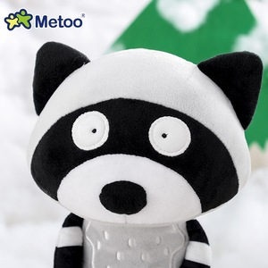 Image 4 - 35cm Metoo Cute cartoon Stuffed animals plush toys doll  fox raccoon koala dolls for kids girls Birthday Christmas child gift