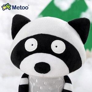 Image 4 - Metoo juguetes de peluche de dibujos animados para niños, muñecos de peluche de 35cm, de zorro, mapache, koala