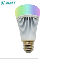 8W LED Bulb Lamp E27 E26 B22 Dimmable Mi Light 2 4G RF Wireless 220V 86
