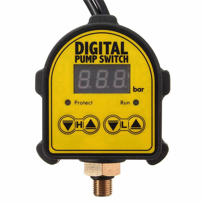 Swilet Hot Koop Automatische Digitale Luchtpomp Water Olie Compressor Druk Controller Schakelaar Waterpomp Digitale Schakelaar