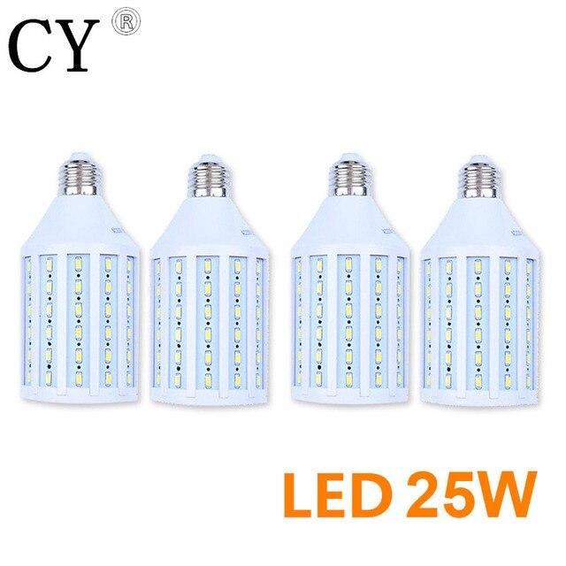 LightupFoto 4pcs E27 220v Photo Studio Bulb 25W 5730 SMD LED Video Light Corn Lamp Bulb & Tubes Photographic Lighting