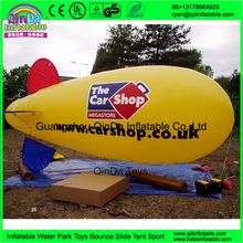 airship helium ball helium balloon/helium air boat/inflatable airship sale