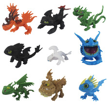 8/9pcs/set anime figure How to Train Your Dragon 3 Action figures PVC model Doll Kids toys for children