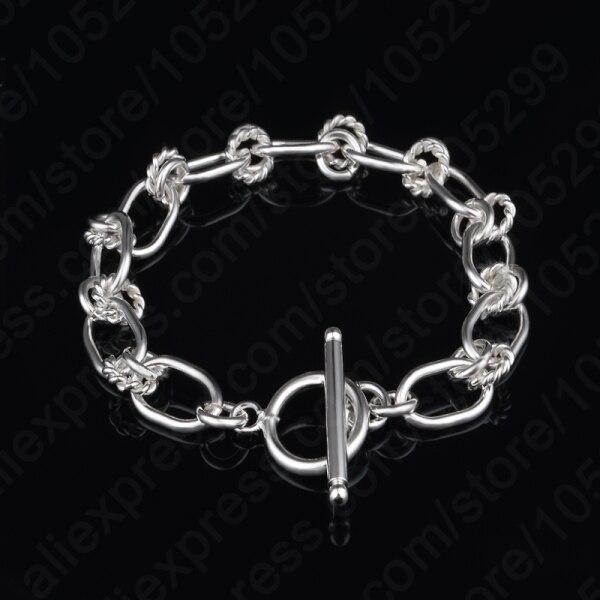 Jemmin New Fashion Popular S90 Silver Color  Bracelet & Bangle Charm Chain Bracelets Jewelry Wholesale For WomenJemmin New Fashion Popular S90 Silver Color  Bracelet & Bangle Charm Chain Bracelets Jewelry Wholesale For Women