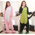 Fleece dinosaur cosplay pajamas animal Onesies Pyjamas jumpsuits  COSPLAY Costume Sleepsuit for adult