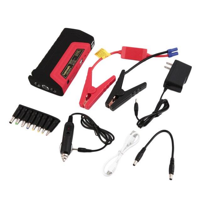 58800 мАч 12 В супер функции мобильного автоматический аварийный зарядное устройство автомобиля бустер зарядное устройство аварийного