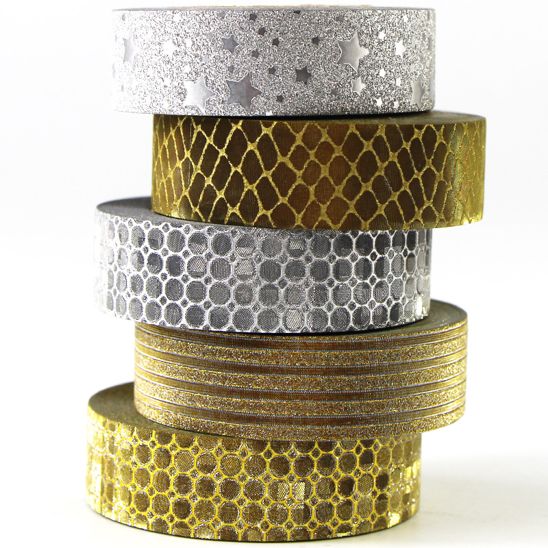 x 1 meter black pattern duct tape bow masking tape repositionable 15 mm