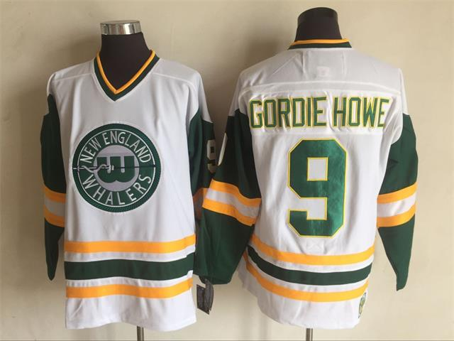 #9 GORDIE HOWE WHA NEW ENGLAND WHALERS Mens Hockey Jersey Embroidery Stitched any number and name Jerseys#9 GORDIE HOWE WHA NEW ENGLAND WHALERS Mens Hockey Jersey Embroidery Stitched any number and name Jerseys