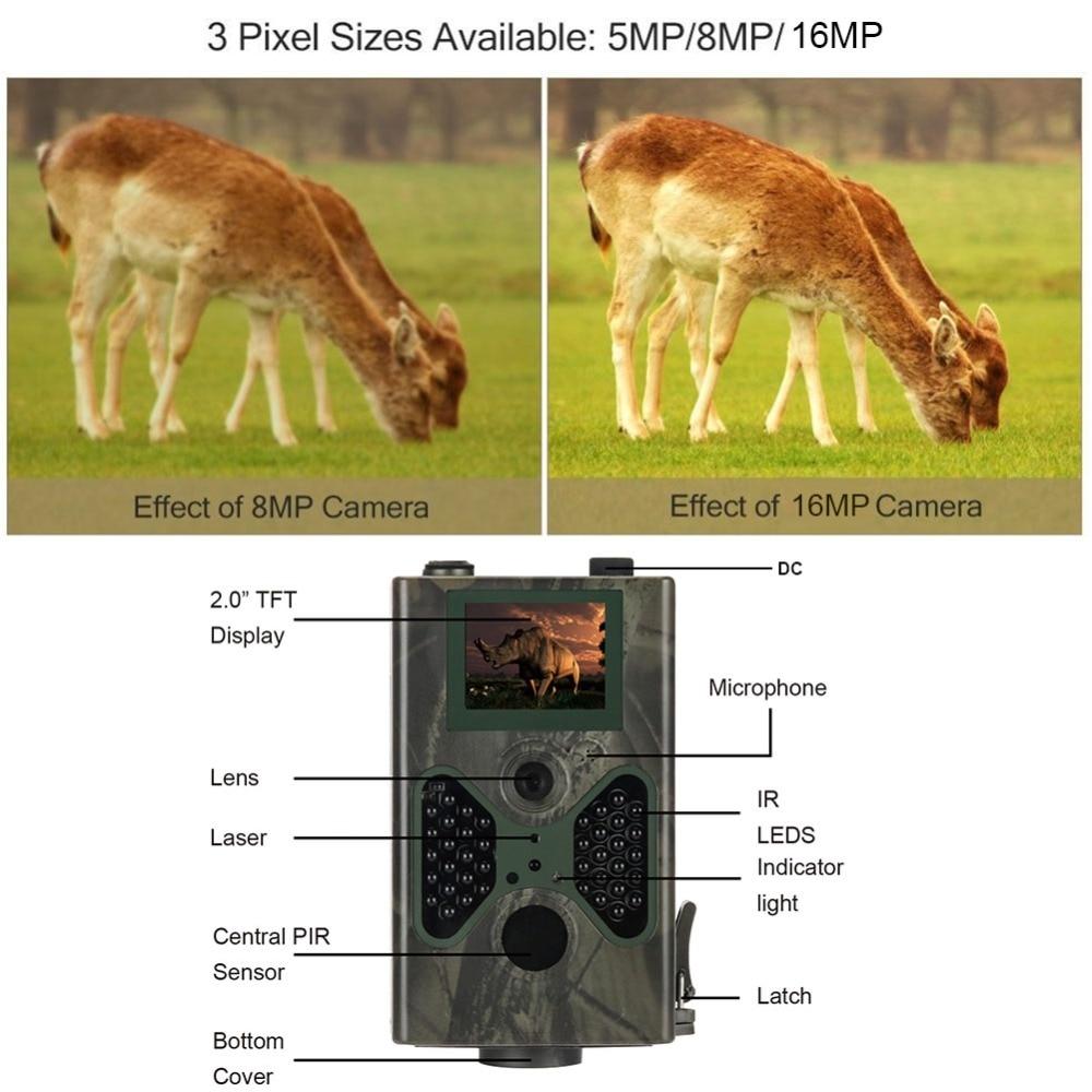 Caméra de chasse cellulaire 16MP pièges Photo SMTP MMS GSM 1080 P Vision nocturne HC330M caméras sans fil de Surveillance de la faune - 5