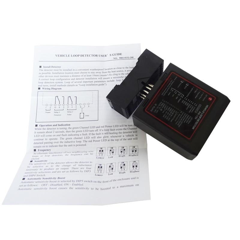 220V - 250V Single Channel High Sensitivity /Expressway/Highway Detectpr/ETC Vehicle Loop Detector Use For Parking System