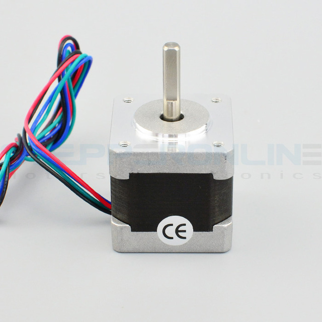 5PCS Nema 14 Stepper Motor 25.5oz.in/18Ncm 5.4V 0.8A Bipolar 3D Printer Makerbot 3D Printer Prusa Makerbot Reprap CNC Robot