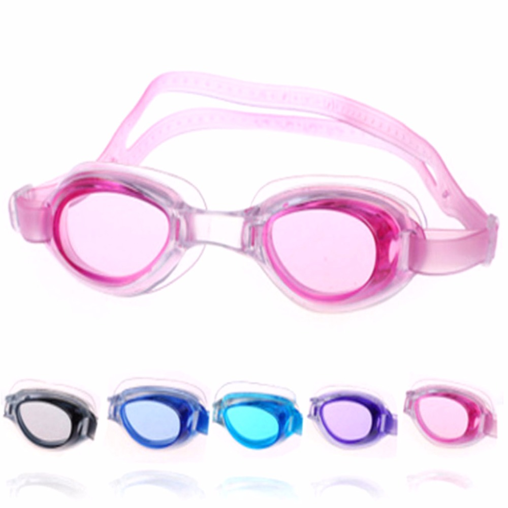 Kids Baby Boys Girls Swimming Goggles Anti-fog Swim Glasses Adjustable Children