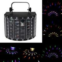 Oto ses aktif led sahne ışık lazer projektör için rgb led sahne ışıkları ktv xmas party düğün göster pub disko