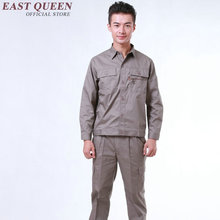 Uniform Men Suits Work-Clothing-Sets Workwear Long-Sleeve Wholesale Women 4xl 3xl Unisex