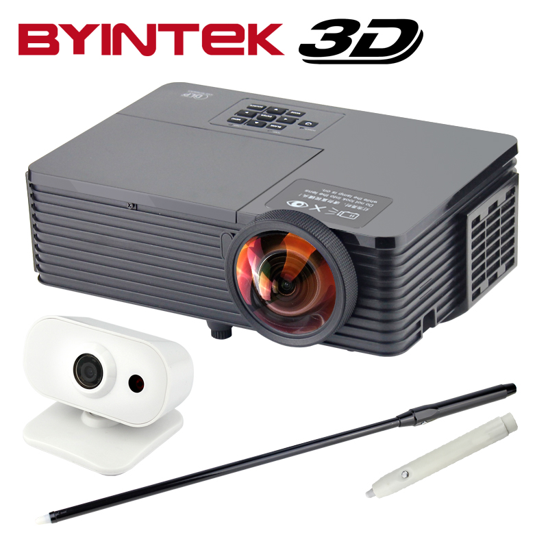 BYINTEK BD510ST Short Throw Interactive 3500ANSI 1080p full HD 3D Home Theater DLP Video Projector Proyector with Whiteboard щипцы braun st 510 sт 510
