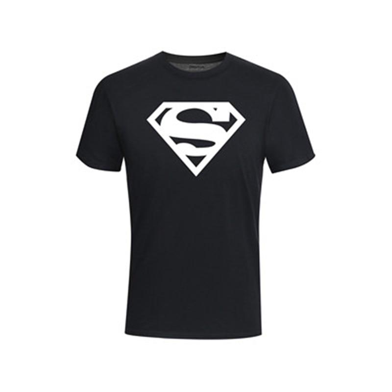 Fettiges Essen Zu Verdauen GüNstiger Verkauf Neue Mode Superman T Shirt Sommer Stil Männer Kurzarm Baumwolle Casual T-shirt Superhero Top Tees Kostenloser Versand Um Zu Helfen Schmuck & Zubehör