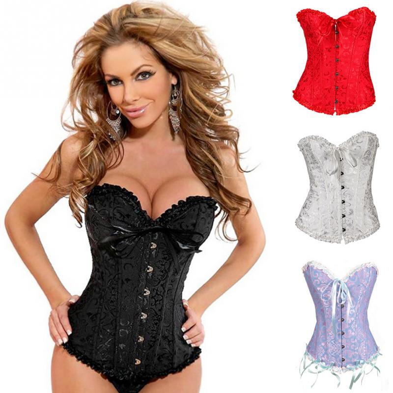 ventes chaudes 2016 mode corsets et bustiers gothique sous vtements de mariage robe sexy lingerie - Sous Vetement Bustier Mariage